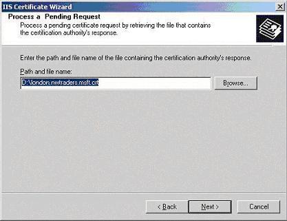 InstantSSL Certificate Installation: Microsoft OWA (Outlook Web Access)