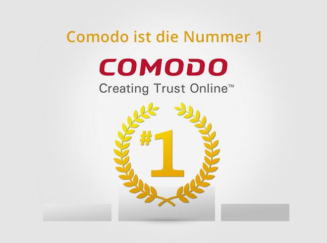Comodo jetzt weltweit die Nummer 1 unter den Zertifizierungsstellen