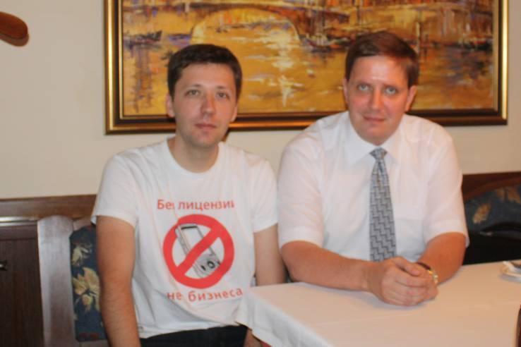 Иванов Алексей и Колесников Андрей
