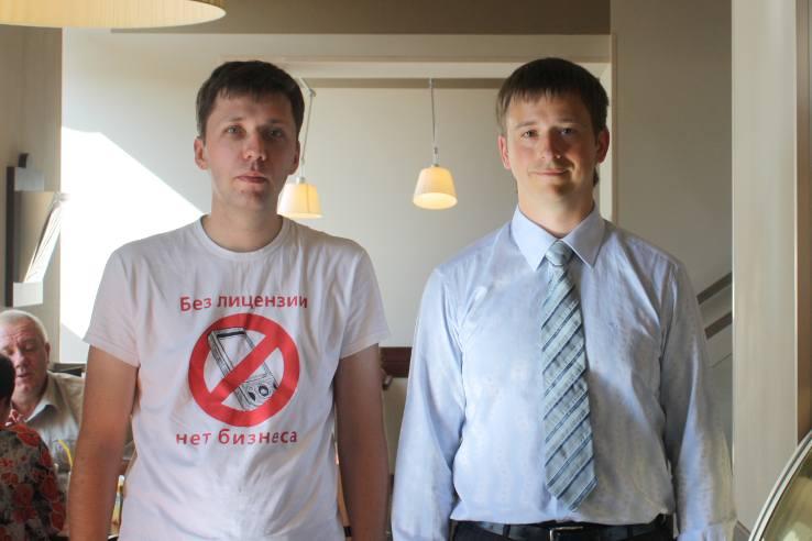 Иванов Алексей и Дмитрий Полторак