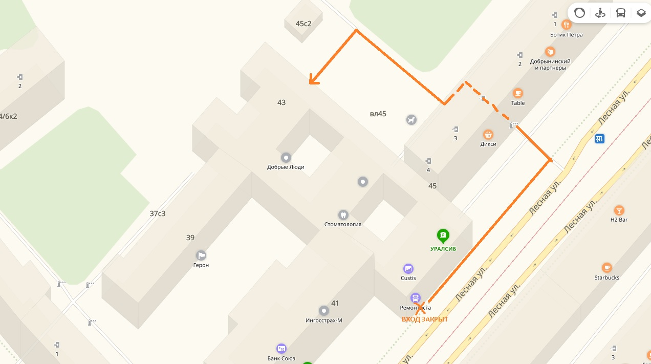 Схема проезда к Хостинг-консалт