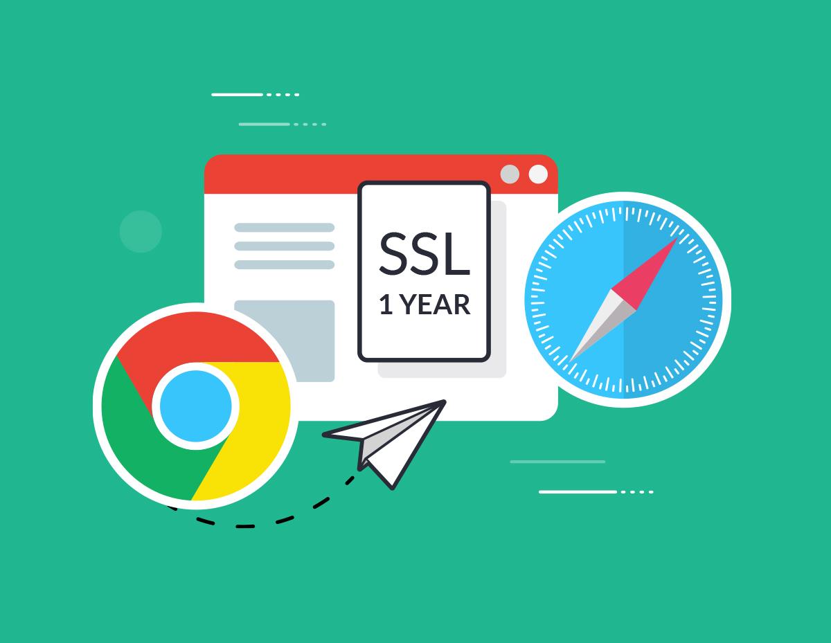 Однолетний SSL в Chrome