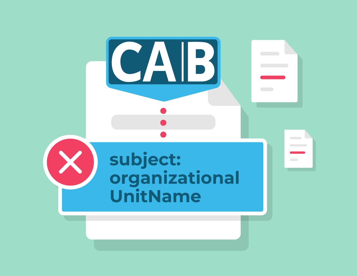 Organizationalunitname